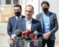Филипче :Денеска добивме од Република Србија 20.000 дози на вакцини